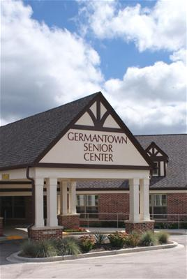 Senior Center Entrance